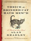 Cover image for Thrice the Brinded Cat Hath Mew'd