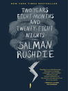 Cover image for Two Years Eight Months and Twenty-Eight Nights