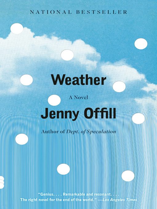 Weather : a novel