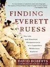 Finding Everett Ruess