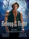 Cover image for Belong to the Night