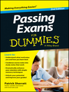 Cover image for Passing Exams for Dummies