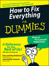 Cover image for How to Fix Everything For Dummies