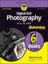 Digital SLR Photography All-in-One For Dummies cover