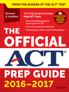 The Official ACT Prep Guide, 2016--2017