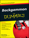 Backgammon For Dummies® [electronic resource]