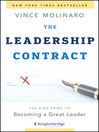 Cover image for The Leadership Contract