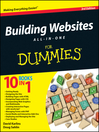 Cover image for Building Websites All-in-One For Dummies