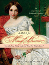 Cover image for A Match for Mary Bennet