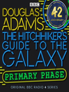 Cover image for Hitchhiker's Guide to the Galaxy: The Primary Phase Special