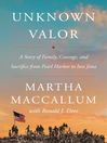 Unknown Valor [EBOOK]