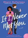 Cover image for If I Never Met You