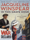 In this grave hour [eBook] : a novel