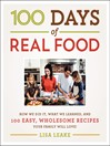 Cover image for 100 Days of Real Food