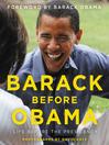 Cover image for Barack Before Obama