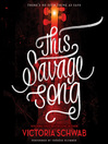 Cover image for This Savage Song