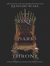 One Dark Throne cover
