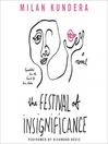 The festival of insignificance [Audio eBook]