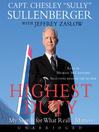 Highest duty [Audio eBook]