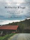 Cover image for Hillbilly Elegy