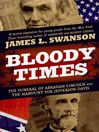 Cover image for Bloody Times