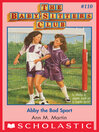 Abby the Bad Sport [electronic resource]