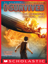 Cover image for I Survived the Hindenburg Disaster, 1937