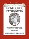 Cover image for One Eye Laughing, The Other Weeping