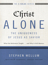 Christ Alone, the Uniqueness of Jesus as Savior