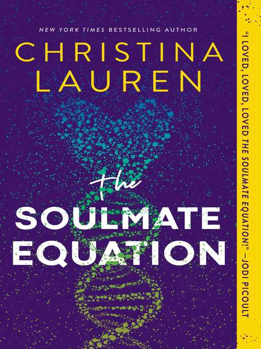 The soulmate equation [electronic book]