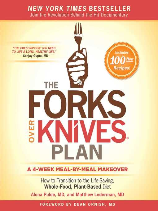 Cover image for The Forks Over Knives Plan
