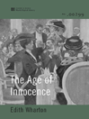 The Age of Innocence (World Digital Library Edition)