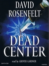 Cover image for Dead Center