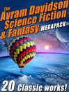 Cover image for The Avram Davidson Science Fiction & Fantasy
