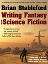 Cover image for Writing Fantasy and Science Fiction