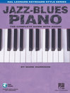 Jazz-blues piano : the complete guide with CD!