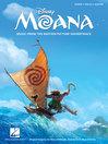 Moana Songbook