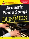 Acoustic Piano Songs for Dummies (Songbook)