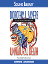 Unnatural death. Book 3 [Audio eBook]