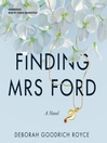 Finding Mrs Ford : a novel