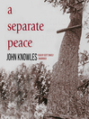 A Separate Peace [electronic resource]