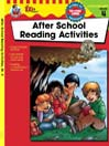 After School Reading Activities, Grade 4