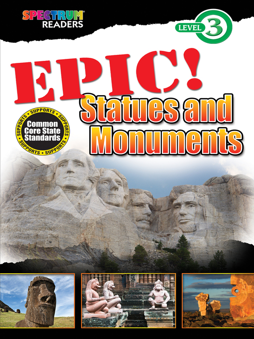 Cover image for EPIC! Statues and Monuments