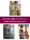 Harlequin Historical June 2018--Box Set 2 of 2 cover