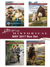 Love Inspired Historical May 2017 Box Set cover
