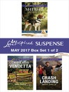 Harlequin Love Inspired Suspense May 2017, Box Set 1 of 2 cover