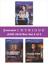 Harlequin Intrigue June 2018--Box Set 2 of 2 cover