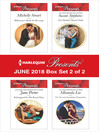 Harlequin Presents June 2018--Box Set 2 of 2 cover