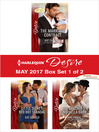 Harlequin Desire May 2017, Box Set 1 of 2 cover