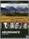 Cover image for Abundance